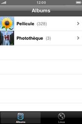 Apple iPhone 3G S - E-mail - envoyer un e-mail - Étape 2