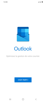 Samsung Galaxy S20 Ultra 5G - E-mail - 032c. Email wizard - Outlook - Étape 5