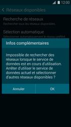 Samsung Galaxy S 5 - Réseau - Sélection manuelle du réseau - Étape 7