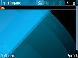 Nokia E71 - MMS - Automatische Konfiguration - Schritt 8