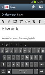 Samsung I8730 Galaxy Express - E-mail - E-mails verzenden - Stap 10