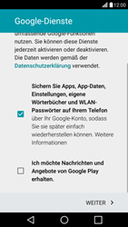 LG H525N G4c - Apps - Konto anlegen und einrichten - Schritt 16