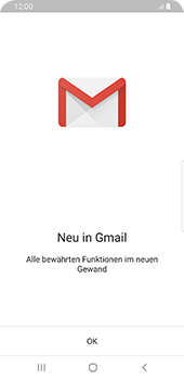 Samsung Galaxy S9 - Android Pie - E-Mail - 032a. Email wizard - Gmail - Schritt 4