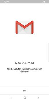 Samsung Galaxy S9 - Android Pie - E-Mail - Konto einrichten (gmail) - Schritt 4