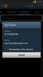 Samsung N7100 Galaxy Note II - MMS - Sending pictures - Step 5