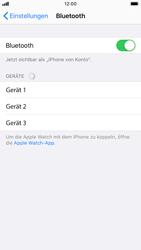 Apple iPhone 7 - iOS 13 - Bluetooth - Verbinden von Geräten - Schritt 7
