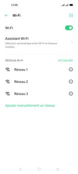 Oppo Reno 4 Pro - Internet et connexion - Accéder au réseau Wi-Fi - Étape 6