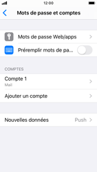 Apple iPhone SE - iOS 13 - E-mail - configuration manuelle - Étape 15