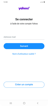 Samsung Galaxy S20+ - E-mails - Ajouter ou modifier votre compte Yahoo - Étape 9