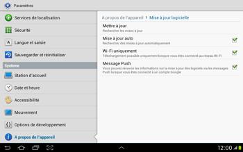 Samsung Galaxy Tab 2 10.1 - Logiciels - Installation de mises à jour - Étape 7