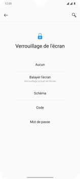OnePlus 7T - Sécuriser votre mobile - Activer le code de verrouillage - Étape 6