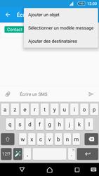 Sony Xperia Z5 Compact - Contact, Appels, SMS/MMS - Envoyer un MMS - Étape 9