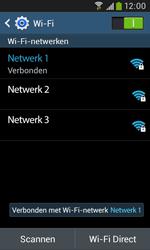 Samsung Galaxy Trend Plus (S7580) - WiFi - Verbinden met een netwerk - Stap 8