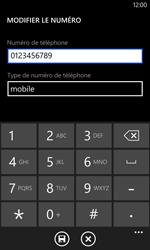 Nokia Lumia 1020 - Contact, Appels, SMS/MMS - Ajouter un contact - Étape 10