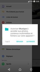 Sony Xperia XZ (F8331) - Photos, vidéos, musique - Ecouter de la musique - Étape 4