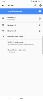 Sony Xperia 10 Plus - WLAN - Manuelle Konfiguration - Schritt 9
