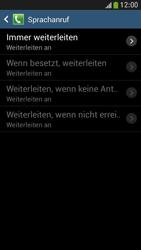 Samsung Galaxy S4 Mini LTE - Anrufe - Rufumleitungen setzen und löschen - 1 / 1