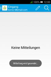 Alcatel OT-4009D Pixi 3 (3.5) - E-Mail - E-Mail versenden - Schritt 18