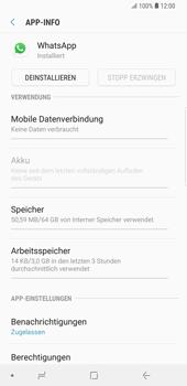 Samsung Galaxy S9 Plus - Apps - Eine App deinstallieren - Schritt 6