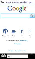 Samsung I8350 Omnia W - Internet - Navigation sur Internet - Étape 4