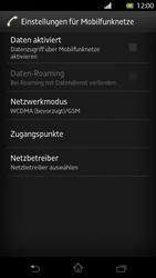 Sony Xperia T - Internet und Datenroaming - Manuelle Konfiguration - Schritt 6