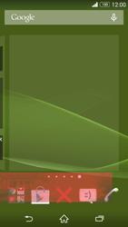 Sony Xperia Z3 - Operazioni iniziali - Installazione di widget e applicazioni nella schermata iniziale - Fase 9