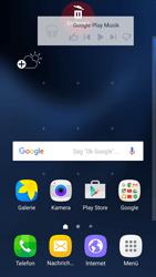 Samsung Galaxy S7 - Startanleitung - Installieren von Widgets und Apps auf der Startseite - Schritt 9
