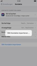 Apple iPhone 8 - Kontakte - Kontakte von der SIM auf das Telefon importieren - 5 / 5