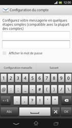 Sony C5303 Xperia SP - E-mail - Configuration manuelle - Étape 6