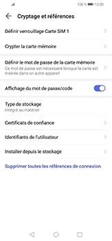 Huawei P30 lite - Sécuriser votre mobile - Personnaliser le code PIN de votre carte SIM - Étape 6