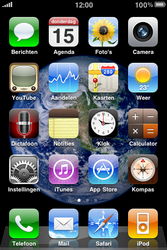 Apple iPhone 3G S - e-mail - handmatig instellen - stap 1
