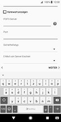 Sony Xperia XZ2 Compact - E-Mail - Konto einrichten - Schritt 13