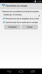 Acer Liquid Jade Z - E-mail - Configuration manuelle - Étape 16
