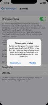 Apple iPhone X - Gerät - Batterielebensdauer/Energiesparmodus - 5 / 6