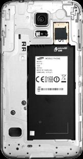 Samsung G903F Galaxy S5 Neo - SIM-Karte - Einlegen - Schritt 5