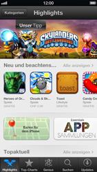 Apple iPhone 5 - Apps - Installieren von Apps - Schritt 3