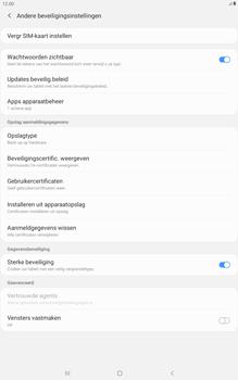 Samsung galaxy-tab-a-10-1-lte-2019-sm-t515 - Beveiliging en ouderlijk toezicht - Hoe wijzig ik mijn SIM PIN-code - Stap 6