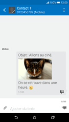 HTC Desire 626 - Contact, Appels, SMS/MMS - Envoyer un MMS - Étape 21