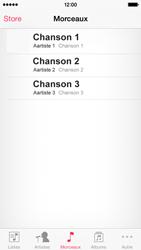 Apple iPhone 5 - Photos, vidéos, musique - Ecouter de la musique - Étape 4