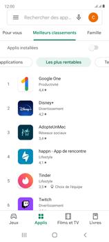 Samsung Galaxy S20 FE - Applications - Télécharger une application - Étape 8