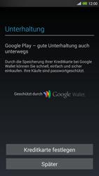 HTC One Max - Apps - Konto anlegen und einrichten - 20 / 22
