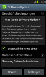 Samsung Galaxy S III Mini - Software - Installieren von Software-Updates - Schritt 8
