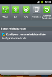 Samsung Galaxy Ace i - MMS - Automatische Konfiguration - 5 / 12