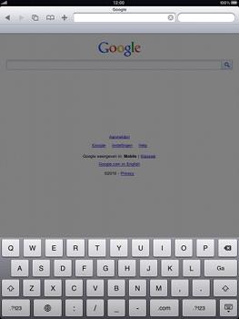Apple iPad - Internet - hoe te internetten - Stap 7