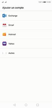 Huawei P20 - E-mail - Configuration manuelle (outlook) - Étape 4