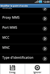Samsung S5830 Galaxy Ace - Internet - configuration manuelle - Étape 13