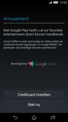 Sony D6503 Xperia Z2 - Applicaties - Account aanmaken - Stap 20