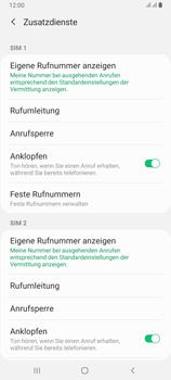 Samsung Galaxy A80 - Anrufe - Rufumleitungen setzen und löschen - Schritt 7