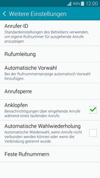 Samsung N910F Galaxy Note 4 - Anrufe - Rufumleitungen setzen und löschen - Schritt 7