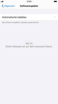 Apple iPhone 8 Plus - iOS 14 - Software - Installieren von Software-Updates - Schritt 6